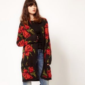 Free People Flower Power Cardigan Size Small